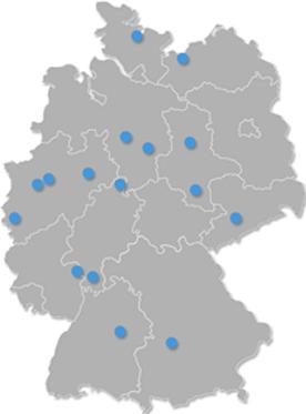 Deutschlandkarte 20011 2