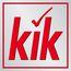 Small kik logo 3d rgb