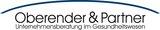 Fits in 160x50 090511 logo oberender u partner cmyk