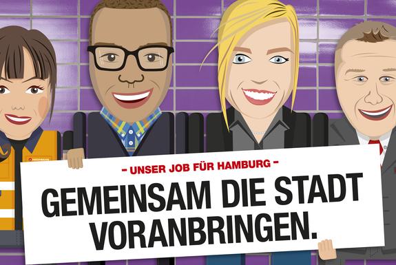 Praktikum bei Hamburger Hochbahn AG