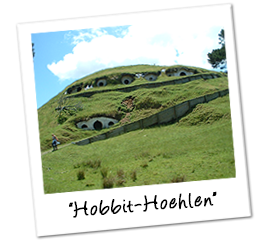 Polaroid neuseeland hobbit