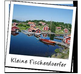 Polaroid schweden fischerdorf